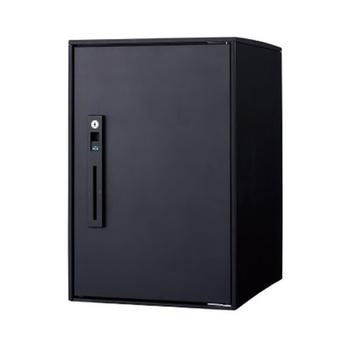 宅配ボックス コンボ ライト  ミドル(マットブラック) CTNR6020RB +据え置き部材セット